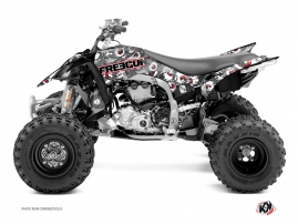 Graphic Kit ATV Freegun Eyed Yamaha 450 YFZ R Red