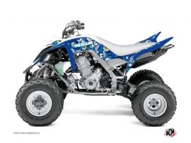 Graphic Kit ATV Freegun Eyed Yamaha 660 Raptor Blue
