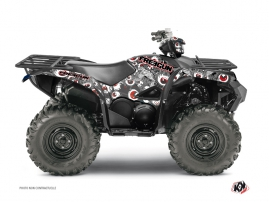 Yamaha 700-708 Grizzly ATV FREEGUN Graphic kit Red