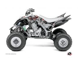 Yamaha 700 Raptor ATV Freegun Graphic Kit Red