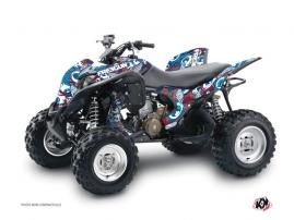 Graphic Kit ATV Freegun Eyed Honda 700 TRX Red