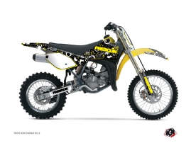 Suzuki 85 RM Dirt Bike FREEGUN Graphic kit Yellow