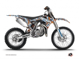 Graphic Kit Dirt Bike Freegun Eyed KTM 85 SX Orange