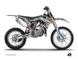 KTM 85 SX Dirt Bike FREEGUN Graphic kit Orange