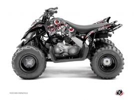 Yamaha 90 Raptor ATV FREEGUN Graphic kit Red