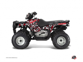 Polaris 90 Sportsman ATV FREEGUN Graphic kit Red Grey