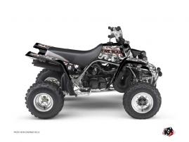 Graphic Kit ATV Freegun Eyed Yamaha Banshee Red