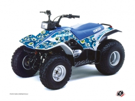 Yamaha Breeze ATV FREEGUN Graphic kit Blue