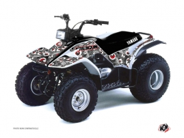 Yamaha Breeze ATV FREEGUN Graphic kit Red