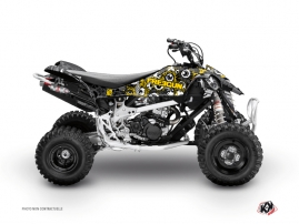 Graphic Kit ATV Freegun Eyed Can Am DS 90 Yellow