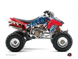Graphic Kit ATV Freegun Eyed Honda EX 400 Red