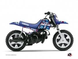 Graphic Kit Dirt Bike Freegun Eyed Yamaha PW 50 Red