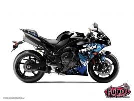 Yamaha R1 Street Bike Freegun Graphic Kit