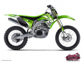 Kawasaki 250 KX Dirt Bike GRAFF Graphic kit