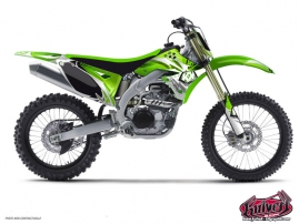 Kawasaki 125 KX Dirt Bike GRAFF Graphic kit