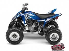 Yamaha 250 Raptor ATV GRAFF Graphic kit Blue
