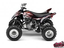 Yamaha 250 Raptor ATV GRAFF Graphic kit Red