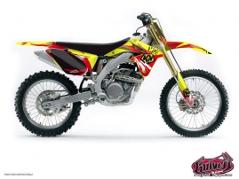 Suzuki 250 RMZ Dirt Bike GRAFF Graphic kit
