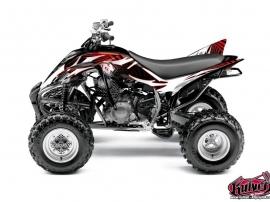 Graphic Kit ATV Graff Yamaha 350 Raptor Red