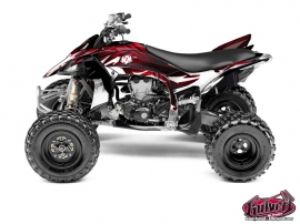 Graphic Kit ATV Graff Yamaha 450 YFZ R Red