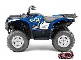 Yamaha 550-700 Grizzly ATV GRAFF Graphic kit Blue