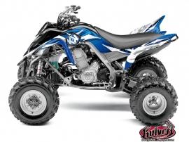 Yamaha 700 Raptor ATV Graff Graphic Kit Blue