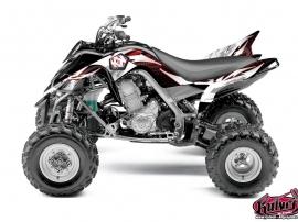 Yamaha 700 Raptor ATV Graff Graphic Kit Red