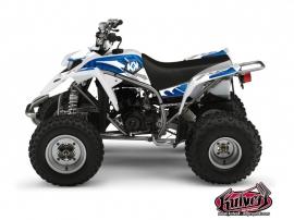 Yamaha Blaster ATV GRAFF Graphic kit Blue