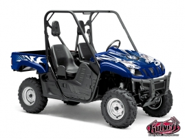 Graphic Kit UTV Graff Yamaha Rhino Blue