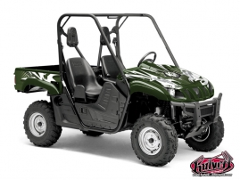 Graphic Kit UTV Graff Yamaha Rhino Green