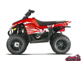 Polaris Scrambler 500 ATV GRAFF Graphic kit