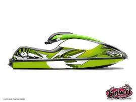 Graphic Kit Jet Ski Graff Kawasaki SXR 800 Green
