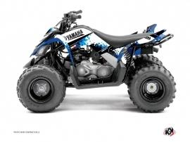 Graphic Kit ATV Hangtown Yamaha 90 Raptor Blue