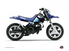 Graphic Kit Dirt Bike Hangtown Yamaha PW 50 Blue