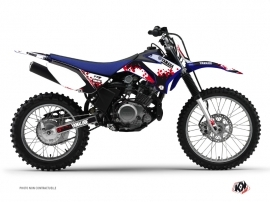 Graphic Kit Dirt Bike Hangtown Yamaha TTR 125 Red