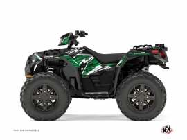 Graphic Kit ATV Jungle Polaris 1000 Sportsman XP Forest Black Green