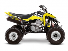 Graphic Kit ATV Kenny Suzuki 400 LTZ IE