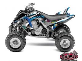 Yamaha 700 Raptor ATV Kenny Graphic Kit Blue