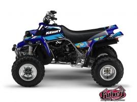 Yamaha Banshee ATV KENNY Graphic kit Blue