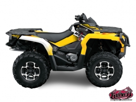 Can Am Outlander 1000 ATV KENNY Graphic kit