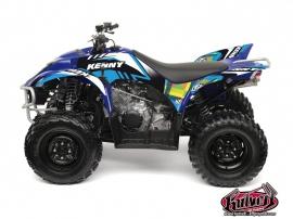 Yamaha 350-450 Wolverine ATV KENNY Graphic kit Blue