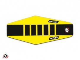 Seat Cover Kutvek Suzuki 250 RMZ 2010-2017 Yellow Black
