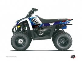 Polaris Scrambler 500 ATV LAST EDITION Graphic kit Blue