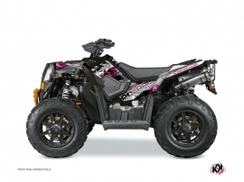 Polaris Scrambler 850-1000 XP ATV LIFTER Graphic kit Pink