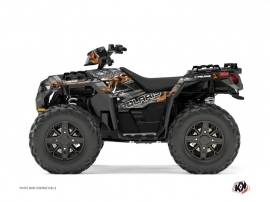 Graphic Kit ATV Lifter Polaris 1000 Sportsman XP Forest Orange