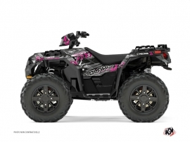 Graphic Kit ATV Lifter Polaris 1000 Sportsman XP Forest Pink