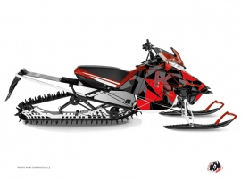 Yamaha SR Viper Snowmobile Metrik Graphic Kit Red Grey