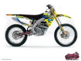 Suzuki 450 RMZ Dirt Bike REPLICA TEAM PICHON Graphic kit