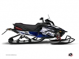 Graphic Kit Snowmobile Mission Yamaha Apex Blue