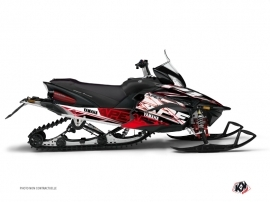 Graphic Kit Snowmobile Mission Yamaha Apex Red